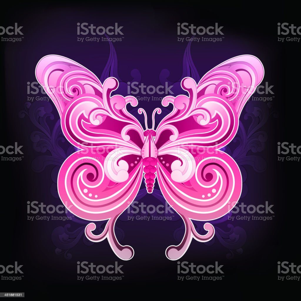 Butterfly royalty-free butterfly stock vector art & more images of abstract