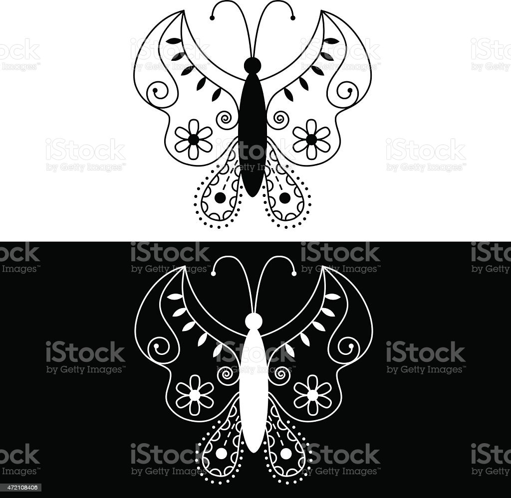Butterfly royalty-free butterfly stock vector art & more images of 2015