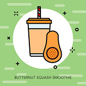 Butternut Squash Smoothie Icon