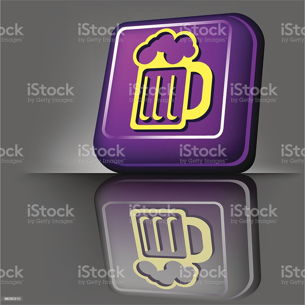button beer royalty-free button beer stock vector art & more images of alcohol
