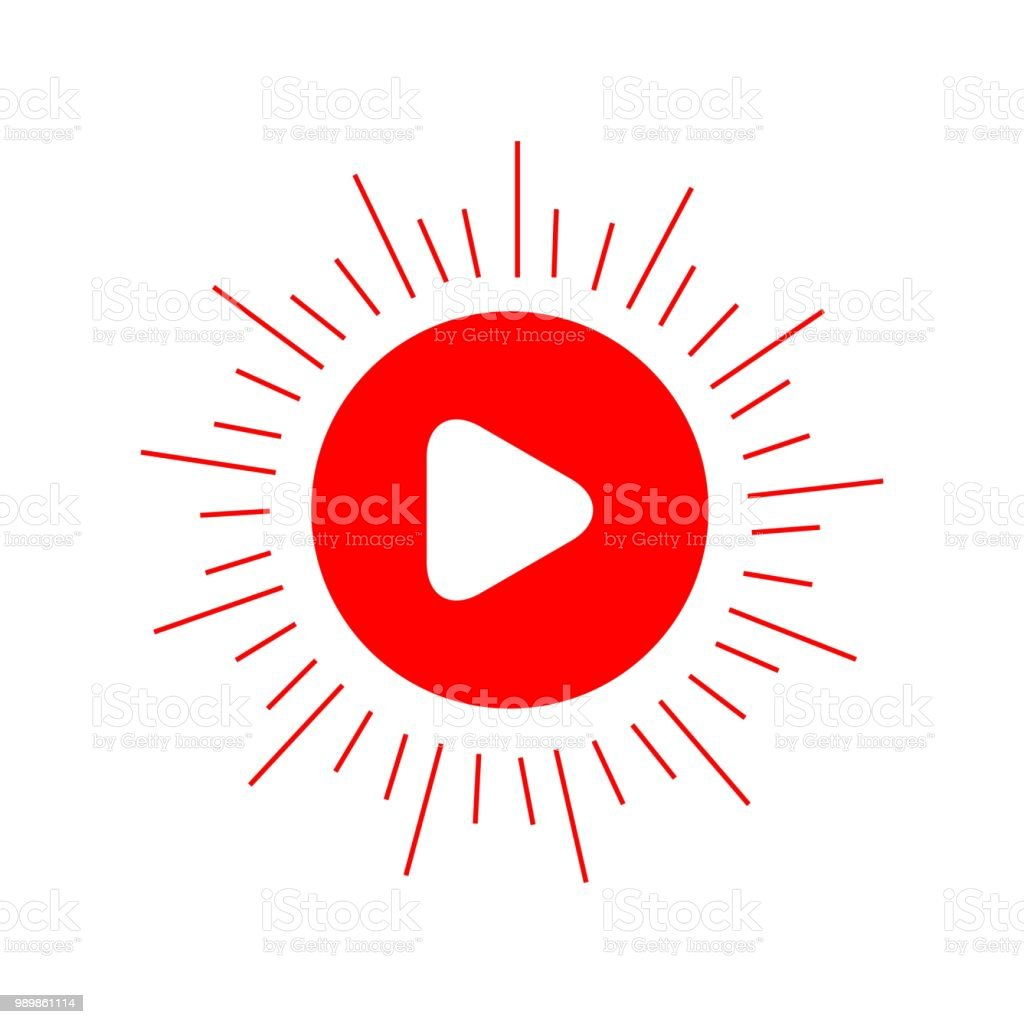 Button Play Vector Template Design Stock Vector Art & More
