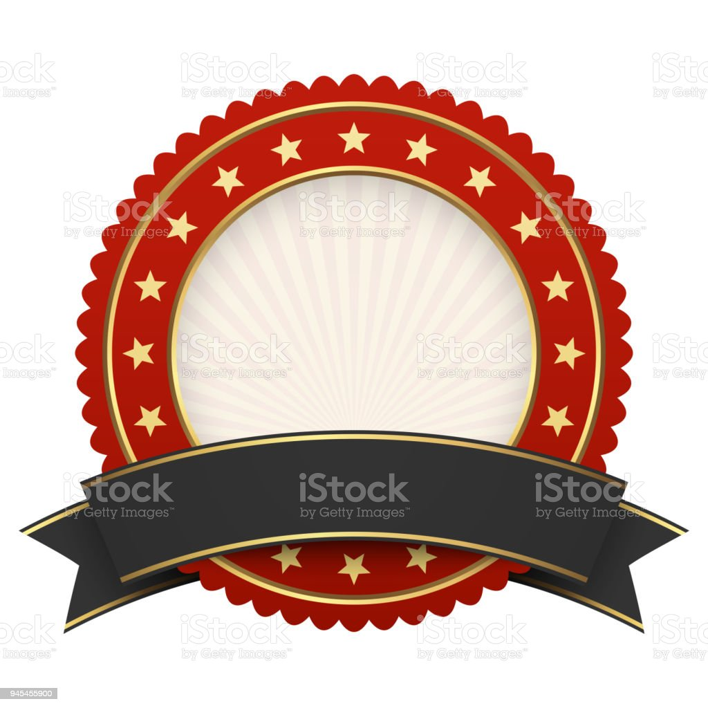 Button template red with black banner stock vector art more images button template red with black banner royalty free button template red with black banner stock maxwellsz