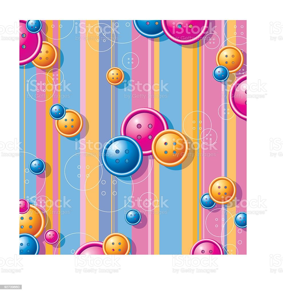 Button's background royalty-free stock vector art