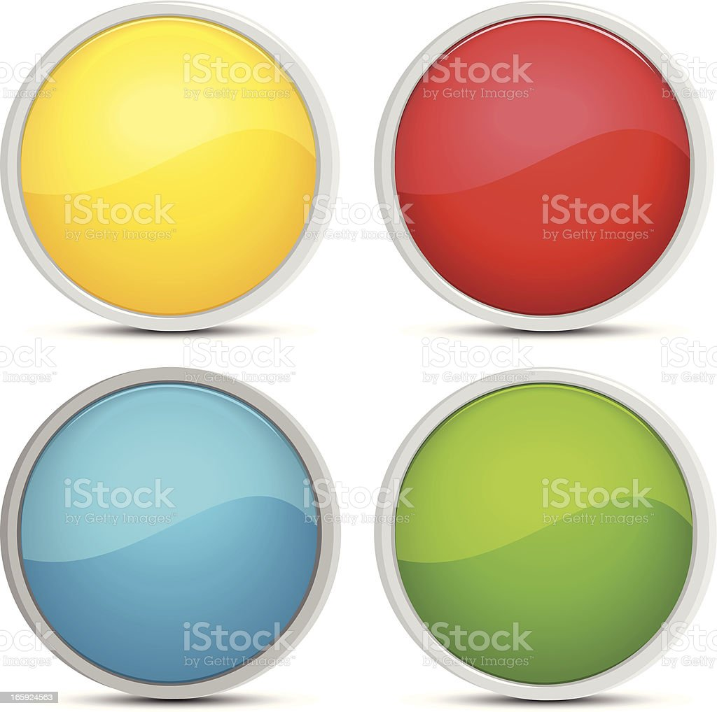 buttons royalty-free stock vector art