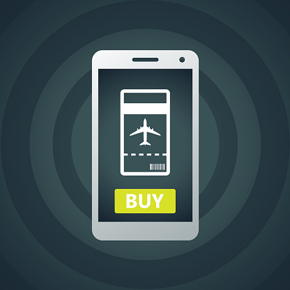 Buy Airline Ticket Online through Smart Phone