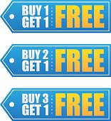 Buy and Get 1 Free Labels