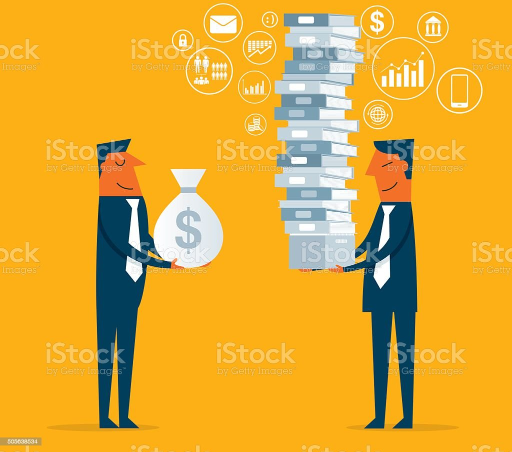 Buy Big Data vector art illustration