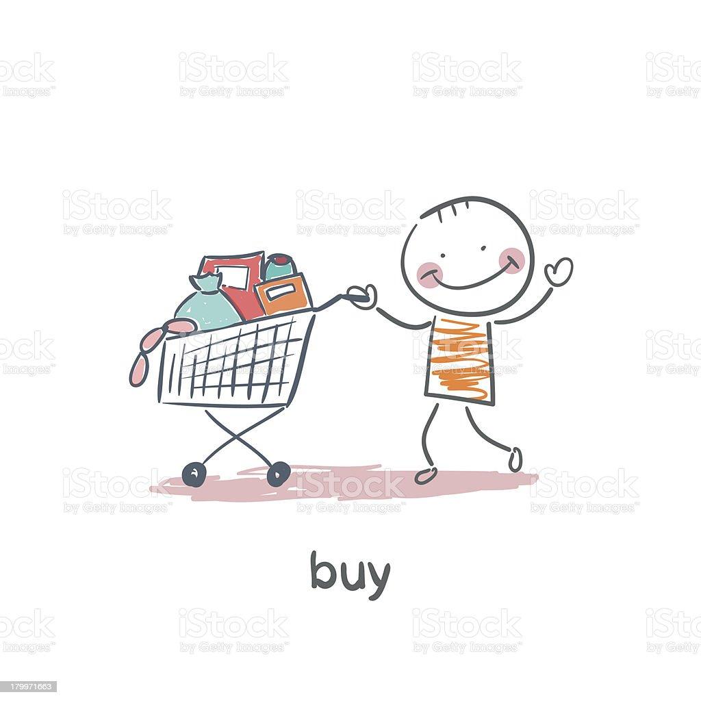 acheter dessin anim cliparts vectoriels et plus d 39 images de acheter 179971663 istock. Black Bedroom Furniture Sets. Home Design Ideas