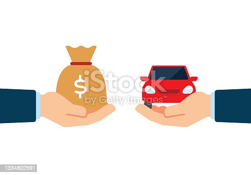 istock Buying a Car 1334802591