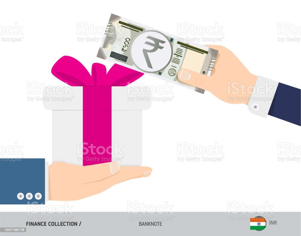 Kaufen Ein Geschenk Für 500 Indische Rupie Flachen