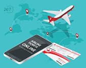 Buying or booking Airline tickets