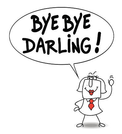 Download Vetores de Bye Bye Darling e mais imagens de 2015 - iStock