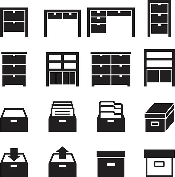 File Cabinet Clip Art: Royalty Free Drawer Clip Art, Vector Images