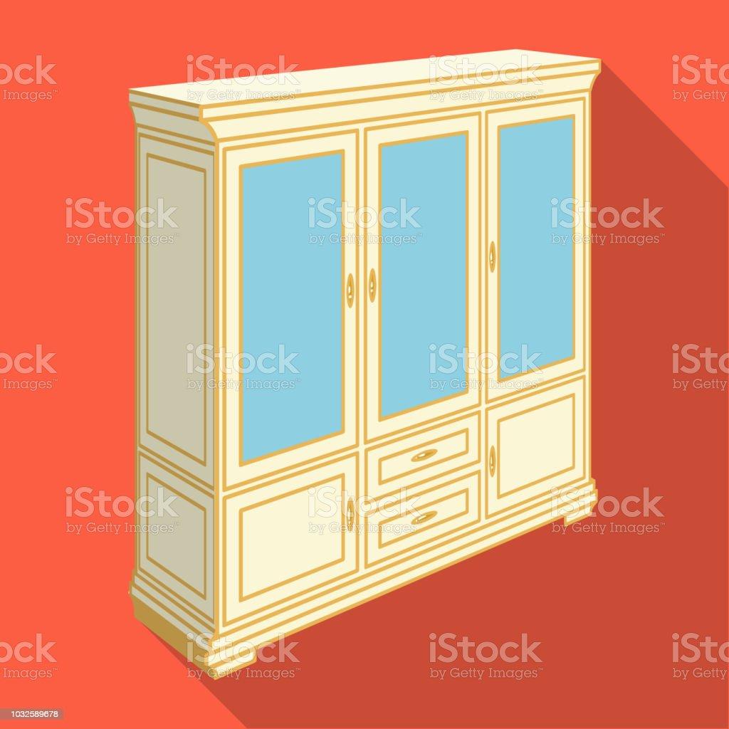 schrank mit glastüren und schubladen möbel und interieur einzelnes