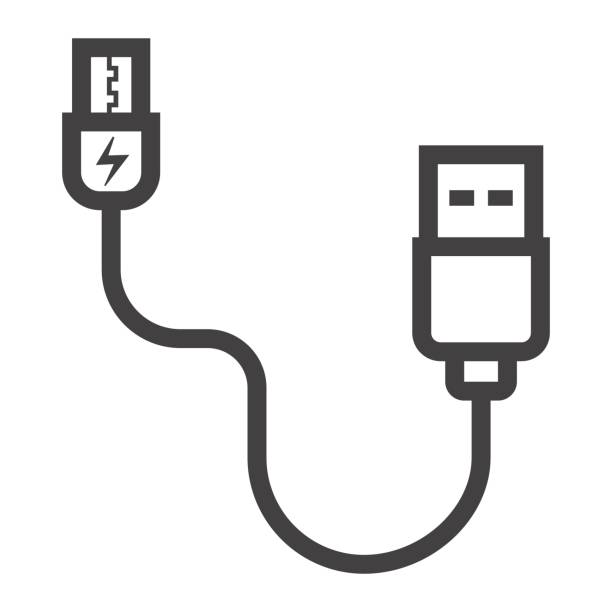 Royalty Free Usb Charger Clip Art, Vector Images