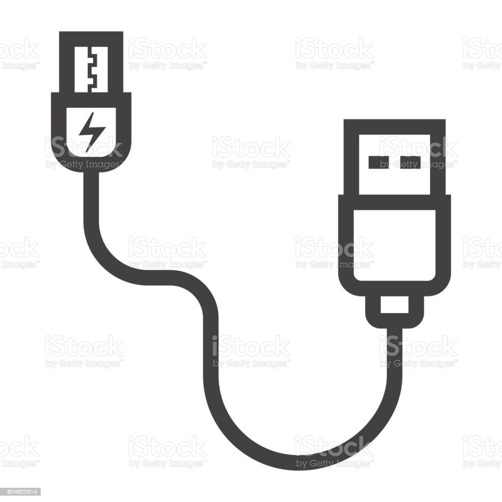 royalty free usb charger clip art  vector images