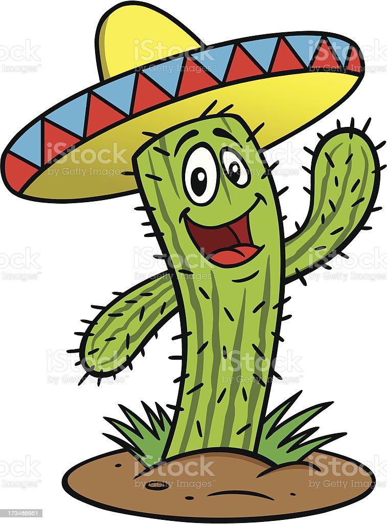 cactus comic stock vektor art und mehr bilder von sombrero clip art white sombrero clip art cute