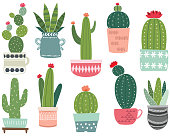 A vector illustration of Cactus Collections. Perfect for invitations, blog, web design, graphic design,embroidery, scrapbook, scrapbook elements, papers, card making, stationery, paper crafts and so much more!