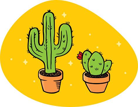 Cactus Doodle 1