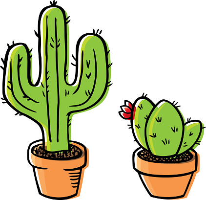 Cactus Doodle 2
