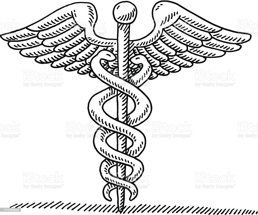 Caduceus Medical care icon vector Download thousands of free vectors on Freepik the finder with more than a million free graphic resources