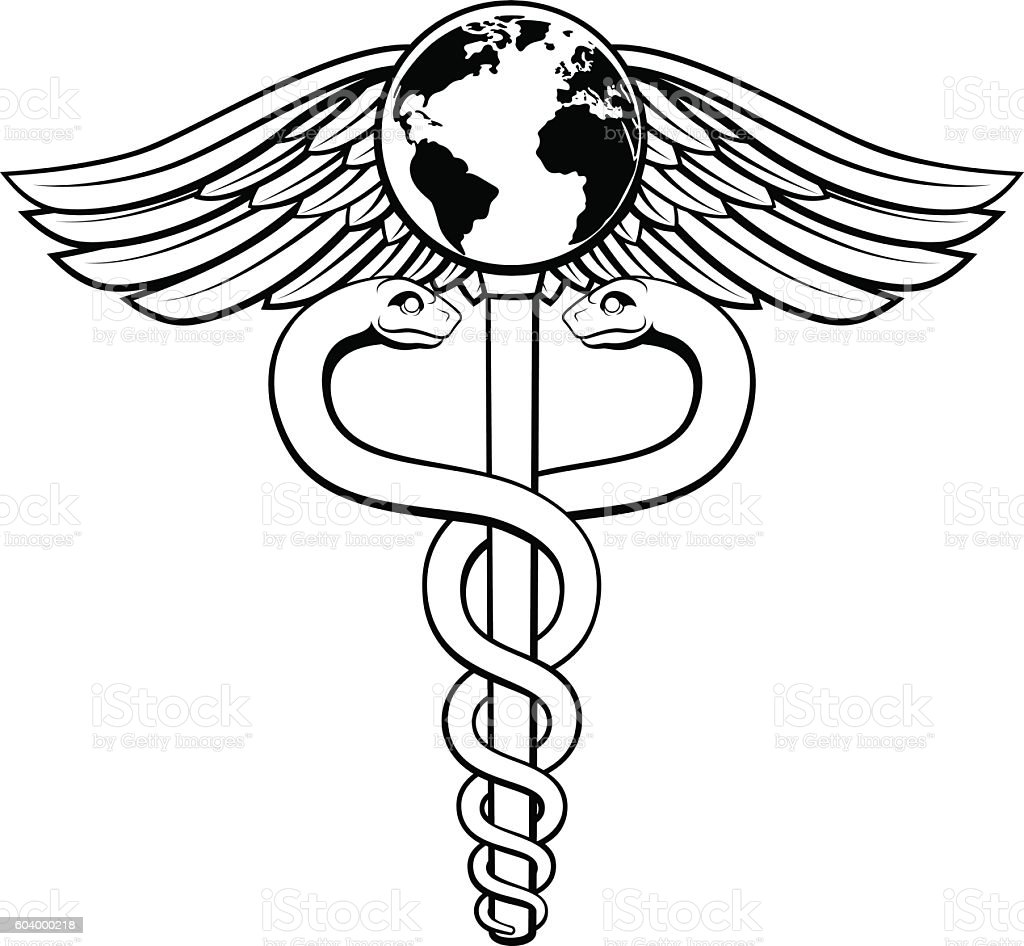 Medical symbol vector images symbol and sign ideas caduceus globe medical symbol stock vector art more images of caduceus globe medical symbol royalty free biocorpaavc