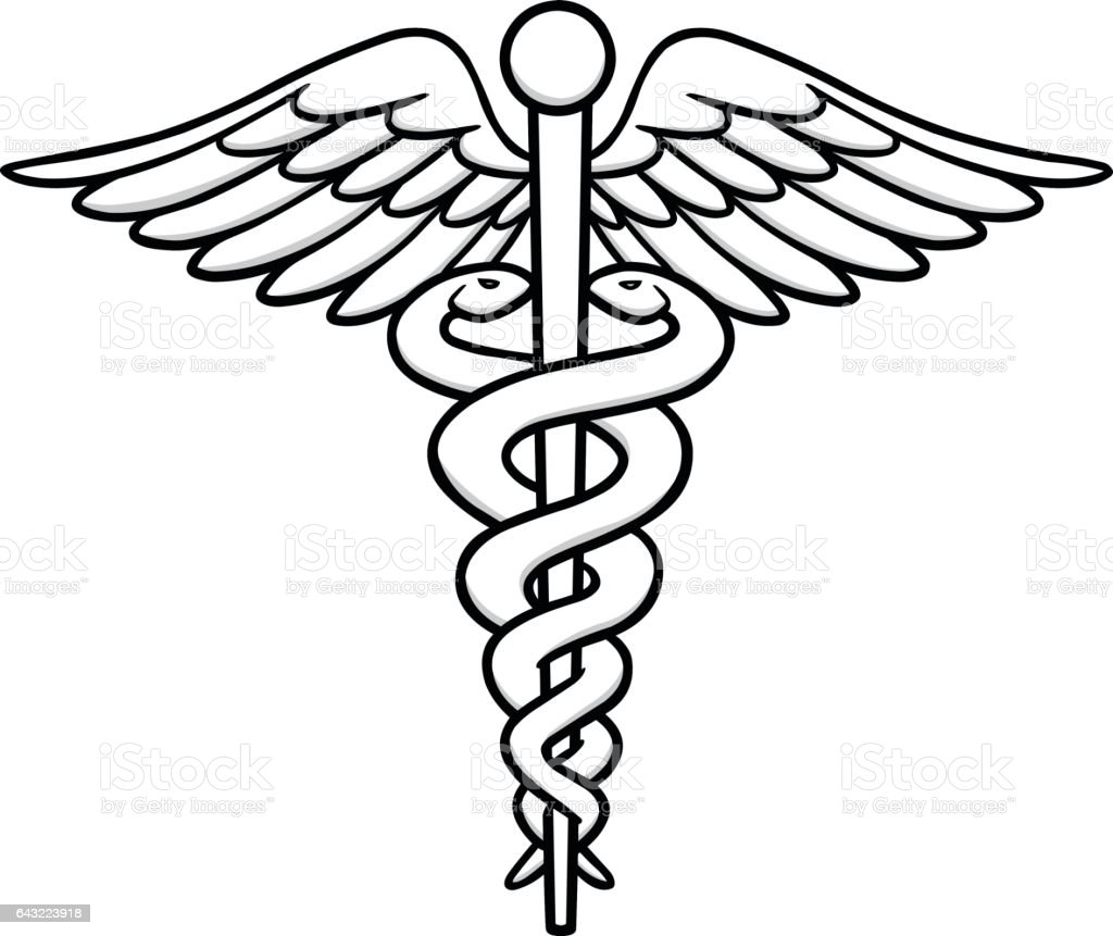 caduceus illustration stock vector art more images of caduceus rh istockphoto com caduceus medical symbol vector free caduceus medical symbol vector free