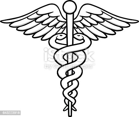 Caduceus Illustration Stock Vector Art & More Images of ...