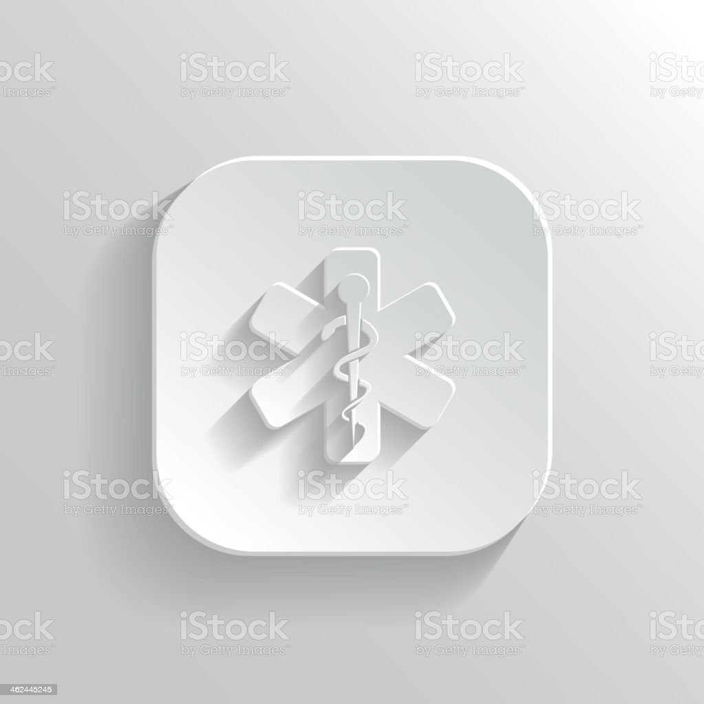 Caduceus Medical Symbol royalty-free stock vector art