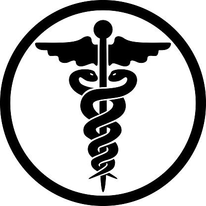 ヘルメスの杖医療シンボルマークます - イラストレーションのベクターアート素材や画像を多数ご用意