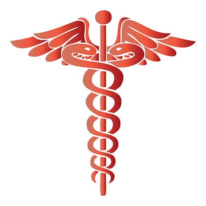ヘルメスの杖医療シンボルのベクトルイラスト - 2015年のベクターアート素材や画像を多数ご用意