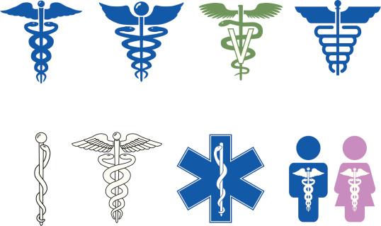 Caduceus Symbol Series