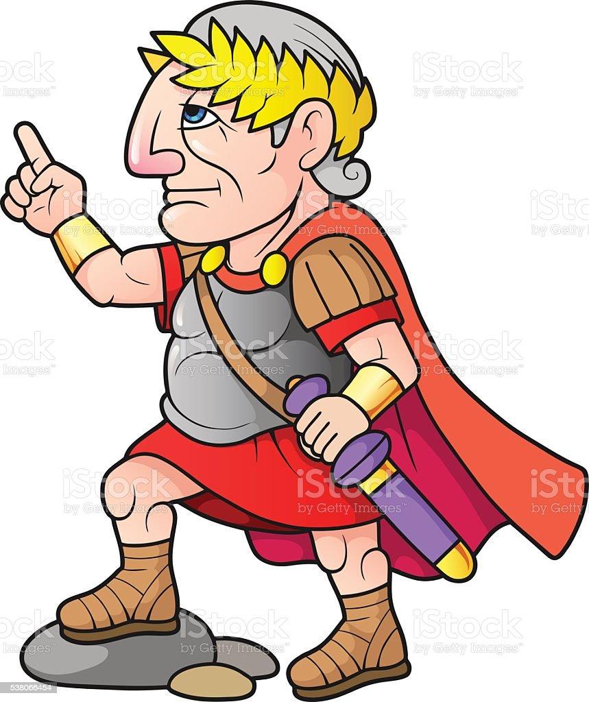 caesar stock vector art   more images of adult 538066454 Julius Caesar Easy Drawing Julius Caesar Cartoon Drawings