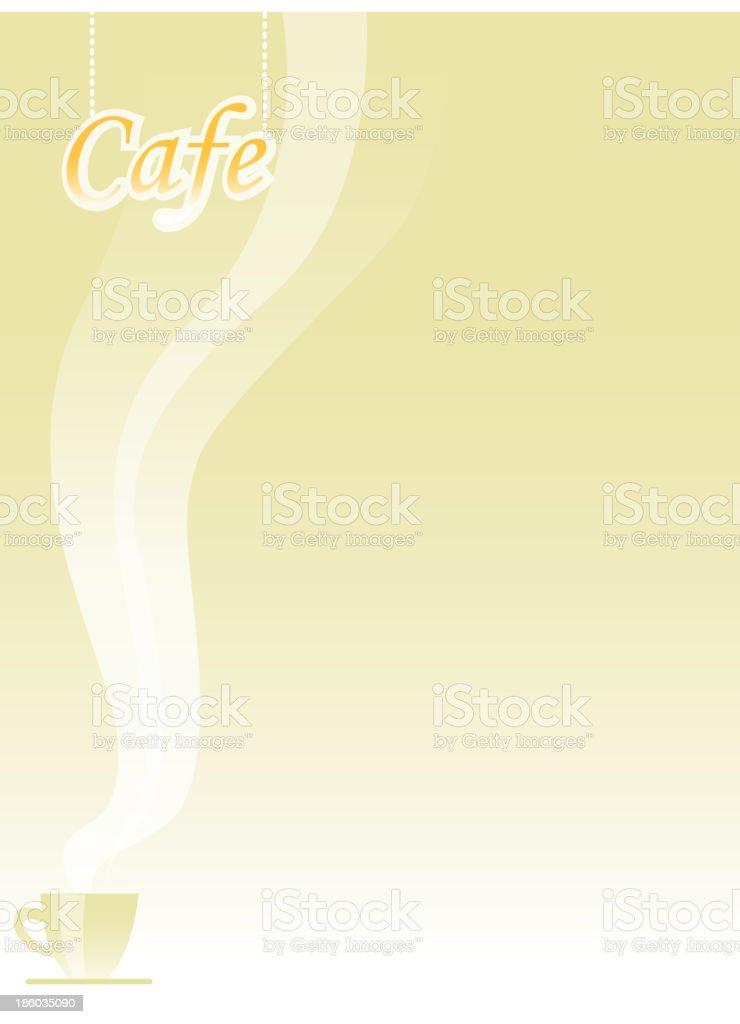 café royalty-free stock vector art