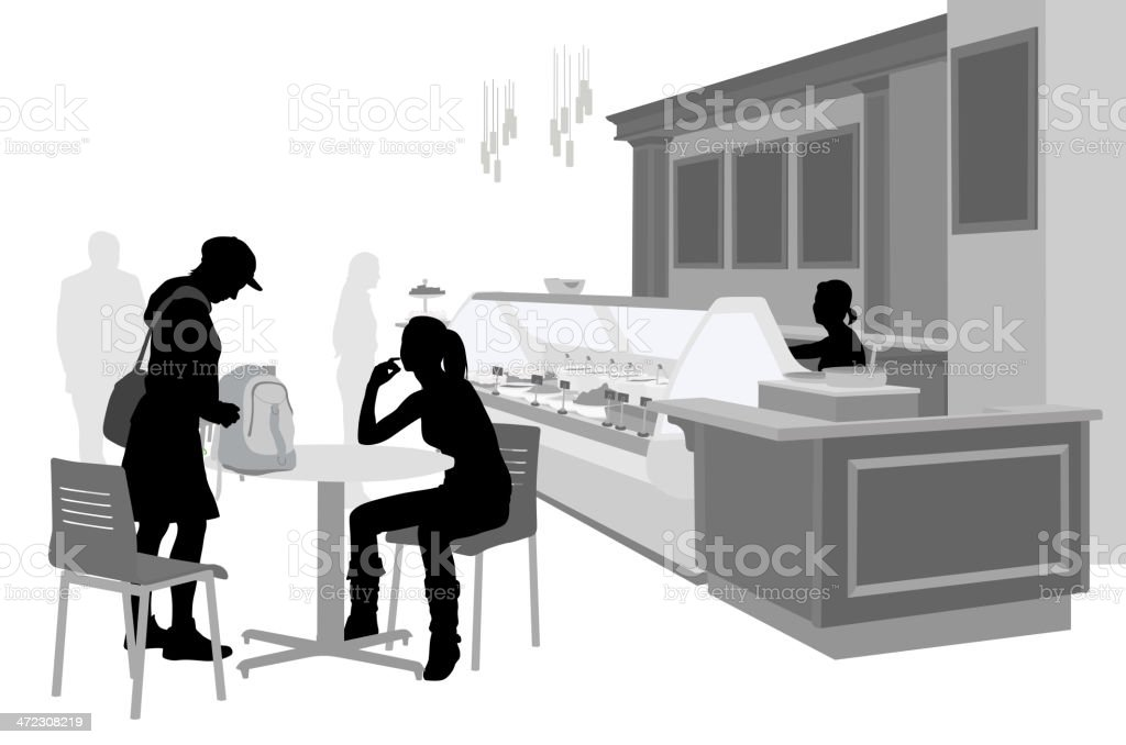 Cafe Buffet royalty-free cafe buffet stock vector art & more images of adult