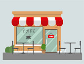 istock cafe flat design 1037049454