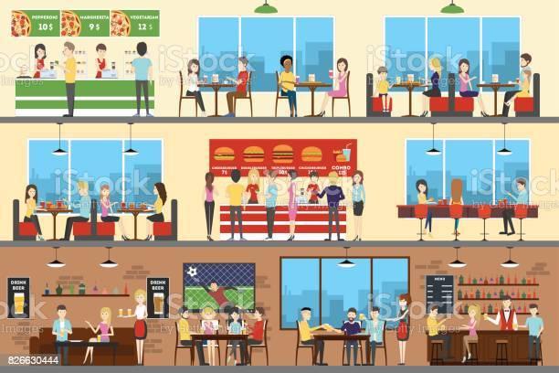 Cafe interior set vector id826630444?b=1&k=6&m=826630444&s=612x612&h=lajikiirznuprdyhgrh6je39j9moaiy8ephmepyyagk=