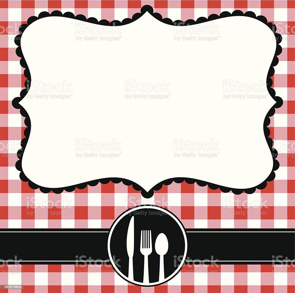 Cafe Menu royalty-free stock vector art
