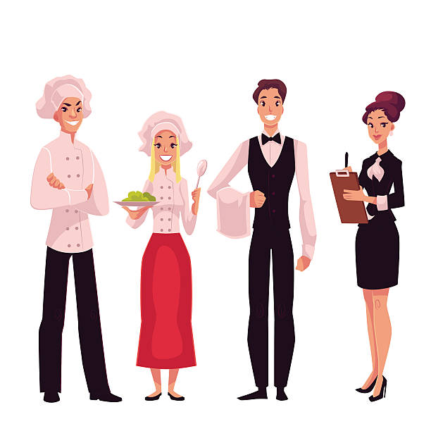 Best Hotel Staff Illustrations, Royalty-Free Vector ...