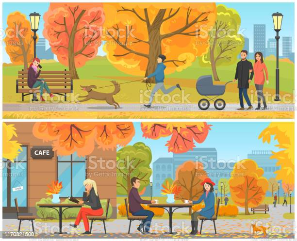 Cafe with tables and clients city park set vector vector id1170821500?b=1&k=6&m=1170821500&s=612x612&h=p utmwhvmy9ey om4loofcypwmd4tazxjp5trb6nv6o=