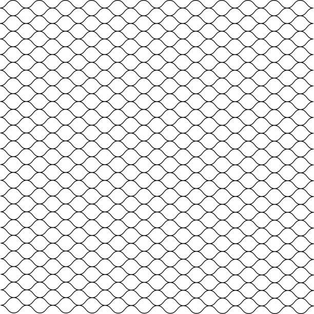 stockillustraties, clipart, cartoons en iconen met cage. grill. mesh. octagon background. vector - mma