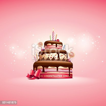 Cake - Birthday Card