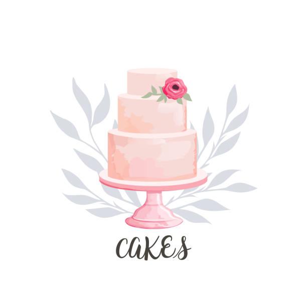 cake icon - cake stock illustrations