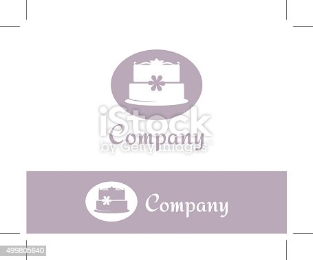 Cake Logo Template Stock Vector Art More Images Of 2015