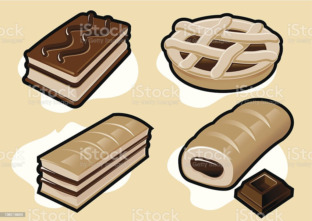 cake royalty-free stock vector art