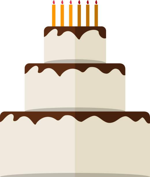 Top 60 Tiered Cake Clip Art, Vector Graphics and ...