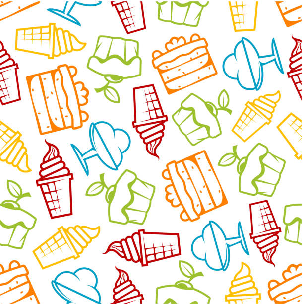 Best Ice Cream Social Illustrations, Royalty-Free Vector ...