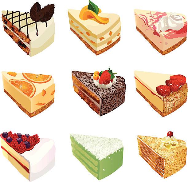 bildbanksillustrationer, clip art samt tecknat material och ikoner med cakes - brownie