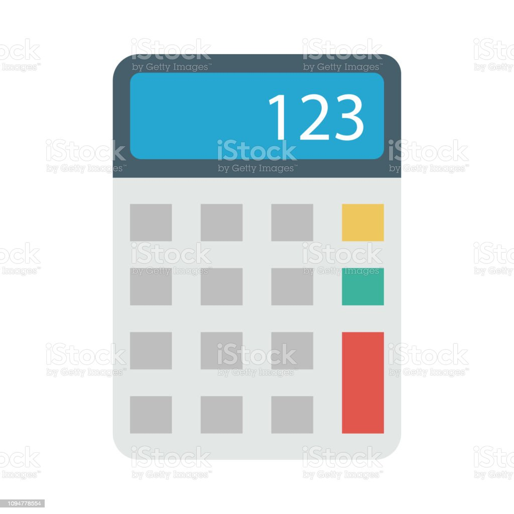 Calculator Accounting Calculation Stock Vector Art & More Images of
