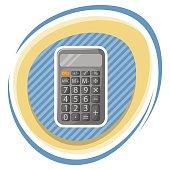 Calculator colorful icon